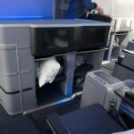 United 787 Business Front Row Storage